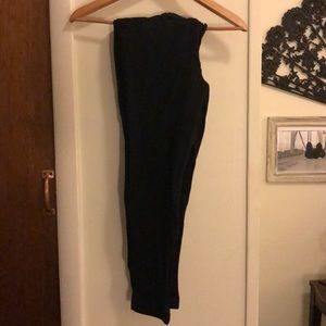 Black Old Navy Stretch Pixie Dress Pants